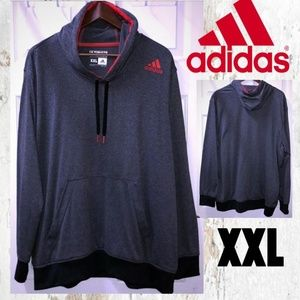 Adidas Ultimate Hoodie Grey/Red